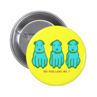 Kawaii Dogs Buttons