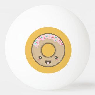 Kawaii donut ping pong ball