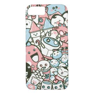 kawaii doodle iPhone 7 case