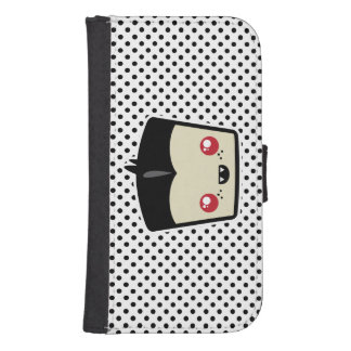 Kawaii Dracula Samsung Wallet Case Galaxy S4 Wallet Case