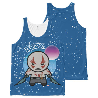Kawaii Drax In Space All-Over-Print Tank Top