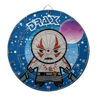 Kawaii Drax In Space Dartboard