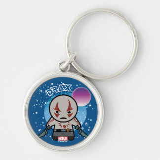 Kawaii Drax In Space Keychain