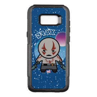 Kawaii Drax In Space OtterBox Commuter Samsung Galaxy S8+ Case