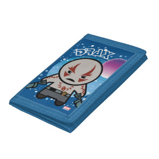 Kawaii Drax In Space Tri-fold Wallet