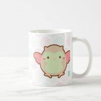 Kawaii egg owl coffee mug