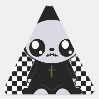 Kawaii Emo Triangle Sticker