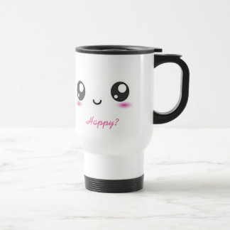 Kawaii Emoji Travel Mug