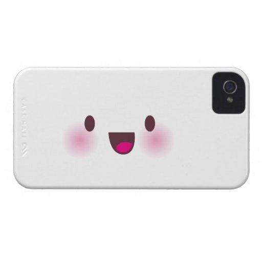 Kawaii face blackberry case