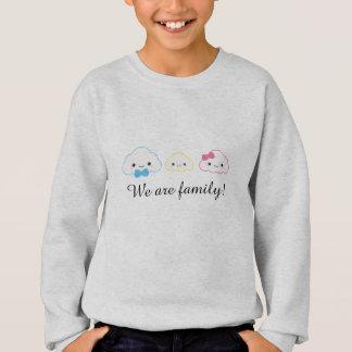 Kawaii Family Cloud Sweatshirt