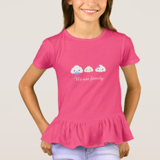 Kawaii Family Cloud T-Shirt