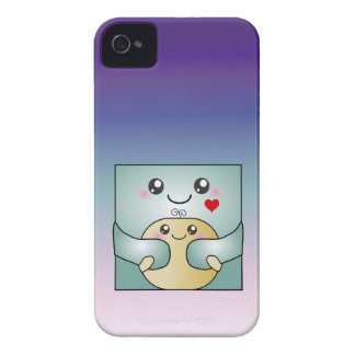 Kawaii Father and Child Cute Hug iPhone 4 Case-Mate Cases