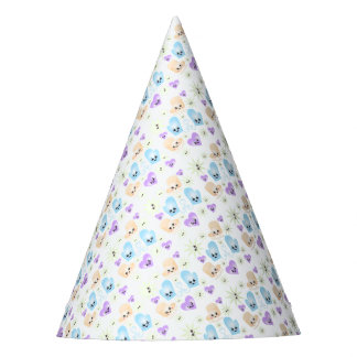 Kawaii Figure Skate Birthday Party Party Hat
