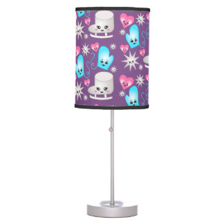 Kawaii Figure Skate Pattern Lamp