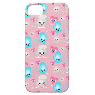 Kawaii Figure Skate Pattern Phone Case