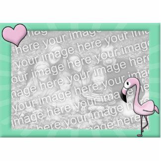 Kawaii Flamingo Photo Frame Photo Sculpture Magnet