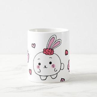 kawaii flower bunny mosquito magic mug