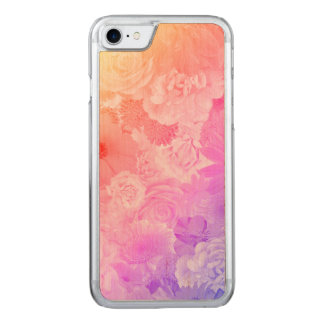 Kawaii Flowers Floral Carved iPhone 7 Case
