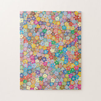 Kawaii Flowers Jigsaw Puzzle