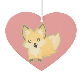 Kawaii Fox Car Air Freshener