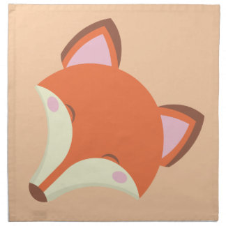 Kawaii Fox Napkin