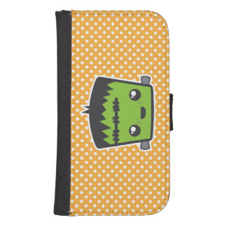 Kawaii Frankenstein Samsung Wallet Case Galaxy S4 Wallet Case