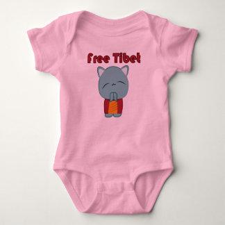 Kawaii Free Tibet Kitty infant creeper