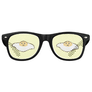 Kawaii Fried egg Retro Sunglasses