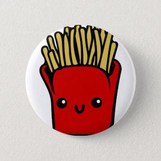 Kawaii Fries 2 Inch Round Button