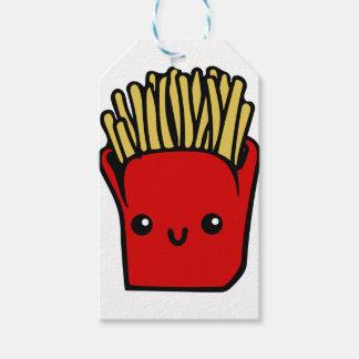 Kawaii Fries Gift Tags