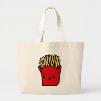 Kawaii Fries Large Tote Bag