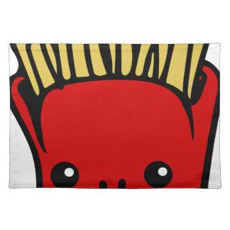 Kawaii Fries Placemat