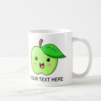 Kawaii Fruit Green Apple Mug
