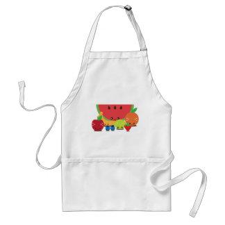 Kawaii Fruit Group Standard Apron