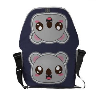 Kawaii, fun and funny koala bag courier bag