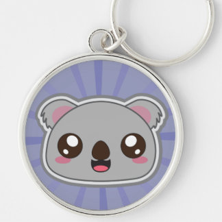 Kawaii, fun and funny koala cool keychain