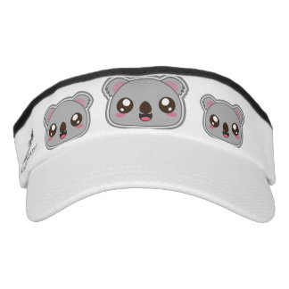 Kawaii, fun and funny koala headsweat visor