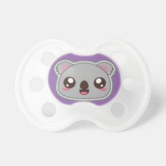 Kawaii, fun and funny koala pacifier