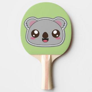 Kawaii, fun and funny koala ping pong paddle