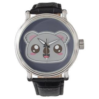 Kawaii, fun and funny koala watch