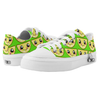 Kawaii, fun and funny lemon shoe