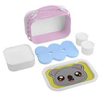 Kawaii, fun, funny and cool koala lunchbox