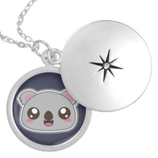 Kawaii fun, funny and cool koala necklace