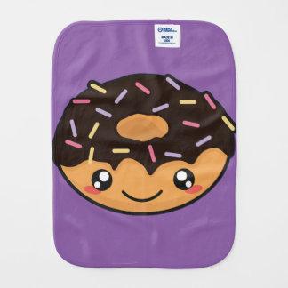 Kawaii funny and cool donut burp cloth
