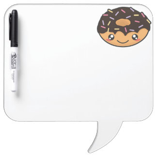 Kawaii funny and cool donut Dry-Erase board