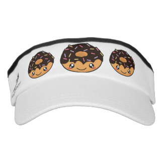 Kawaii funny and cool donut visor