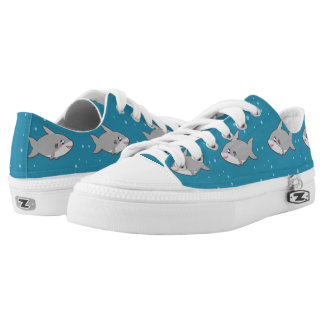 Kawaii funny and cool sharky shoes