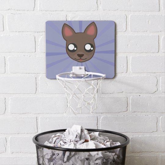 Kawaii funny chihuahua basketball hoop