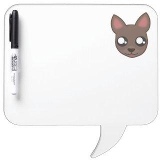 Kawaii funny chihuahua dry erase board