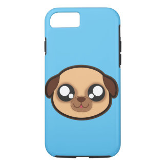 Kawaii funny dog apple case for iphone